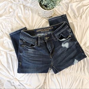 American Eagle Distressed Skinny Jeans 🌿